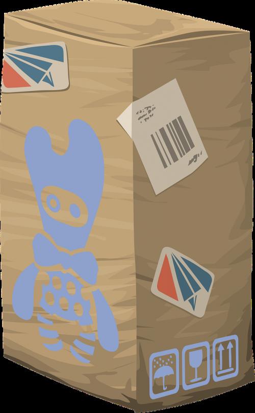paketas,dėžė,laivyba,Paštas,pakavimas,kartonas,konteineris,dovanos,pateikti,dėžutė,paštas,siurprizas,ruda,nemokama vektorinė grafika