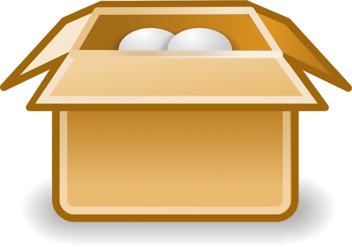 paketas,siuntas,paketas,dėžė,kartonas,piktograma,nemokama vektorinė grafika