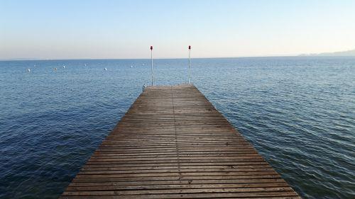 Padenghe,ežero garda,sausis