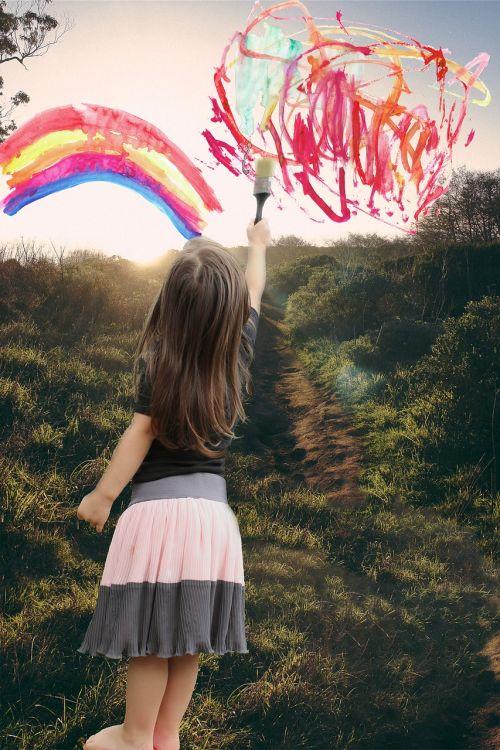 dažyti,vaivorykštė,šviesus,spalvinga,meno,dažų purslų,šepetys,spalva,piešimas,teptukas,dažymo smūgis,vaikas,vaiko piešimas