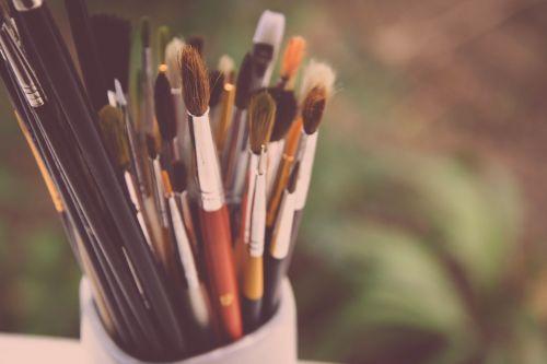 dažymo teptukai,dažymas,kūrybiškumas,menininkas,dailininkas,dažyti,įrankiai,meno,akrilas,akvarelė,teptukas,šeriai