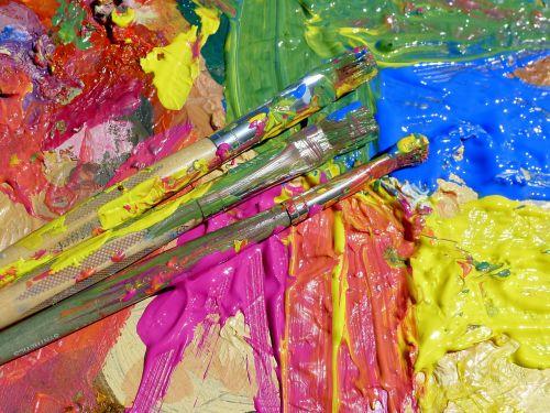 dažyti skalauti,spalvos,dažyti,plakti,mėlynas,raudona,geltona,BLOB,spalva,simbolis,meno,spalvinga,teptukas,paletė,kūrybiškumas,akrilas,šepetys