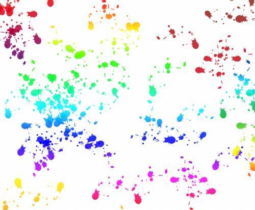 dažyti, plakti, simbolis, rašalas, blotosai, spalvinga, spalvinga, balta, fonas, tapetai, popierius, netinkamas, Scrapbooking, Laisvas, viešasis & nbsp, domenas, dažyti plaktuku spalvinga fone