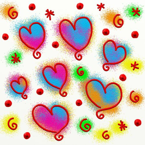 Iliustracijos, clip & nbsp, menas, iliustracija, grafika, dažyti, dažymas, abstraktus, fonas, tekstūra, splats, rašalas, plakti, širdis, širdis, meilė, doodles, mylėti & nbsp, širdis, romantiškas, išraiškos, proga, valentine, Valentino diena & nbsp, dažyti širdies doodles