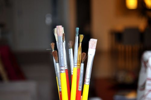 dažymas,dažymo teptukai,menininkas,kūrybiškumas,įrankiai,akvarelė,darbas,spalvos,teptukas,dizainas,dailininkas,dažai,meno