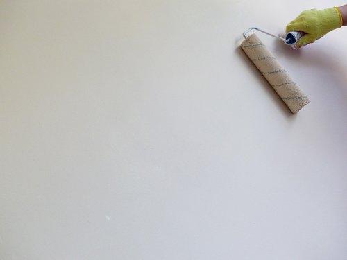 tapyba, balta sienelę, dažų volelis, sienelę, renovacija, rankos, dažų sienos, interjero dažų, dažų sluoksnis, dažų pirštines, apdaila