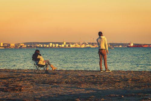 pora,vyras,moteris,santykiai,atskyrimas,sąmoningas,kartu,vienas,lojalumas,poilsis,meilė,romantiškas,ilgesys,partnerystė,jūra,vanduo,papludimys,svajones