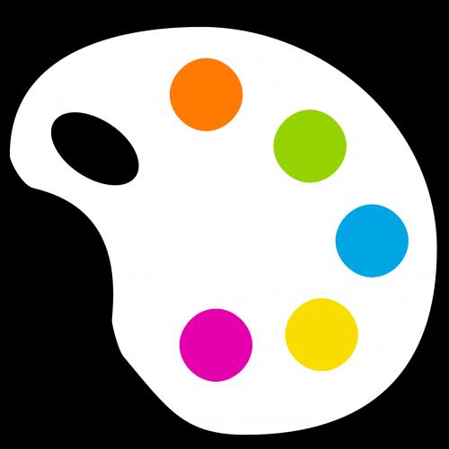 paletė,dažyti,spalva,spalvos,spalva,nemokama vektorinė grafika