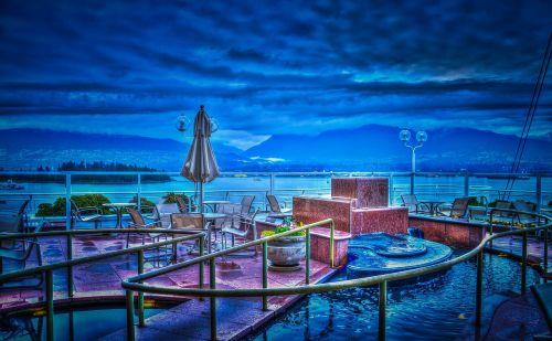 pan Pacific viešbutis,Vankuveris,Kanada,vandenynas,architektūra,Ramiojo vandenyno regionas,pan,viešbutis,šiuolaikinis,lauko valgomasis,dizainas,dangus,mėlynas,miestas,orientyras,miesto,vaizdas,vanduo