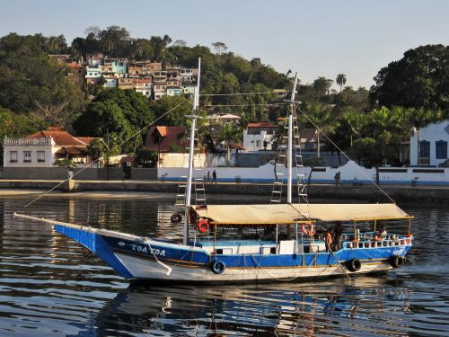 paquetá sala,stadtviertel of rio,Guanabaros įlanka,laivas,favelas,nemokama sala,maža sala,rio de janeiro Brazilija ,Royalty Free