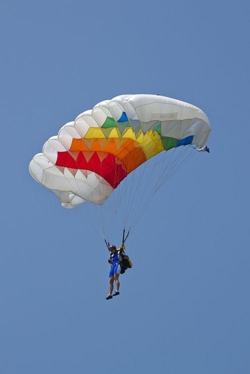Parašiutautojas, Parašiutiniai Musės, Parašiutas, Pilotas, Skristi, Priklausyti, Ekstremalus Sportas, Oro Sportas
