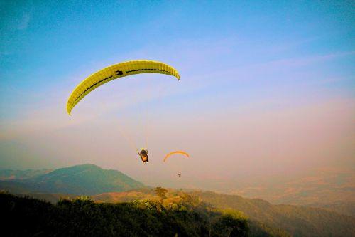 Paragliding, Skraidantis, Pilotas, Sportas, Ekstremalus Sportas, Skristi, Sklandymas, Oras