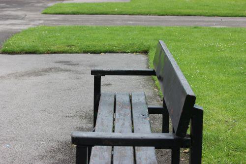 parkas, stendas, sėdynė, sėdimosios vietos, medinis & nbsp, stendas, parko suoliukas
