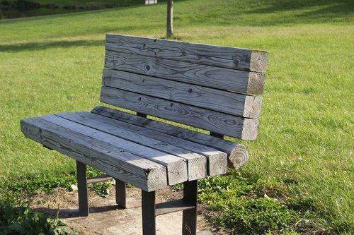 parko suoliukas, parkas, suoliukas, vasara, sėdynė, lauke, tuščia, medinis stende
