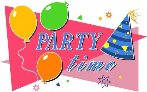 Iliustracijos, clip & nbsp, menas, iliustracija, grafika, animacinis filmas, gimtadienis, proga, įvykiai, atostogos, švesti, šventė, vakarėlis, vakarėlis, vakarėlis & nbsp, laikas, balionai, vakarelio metas