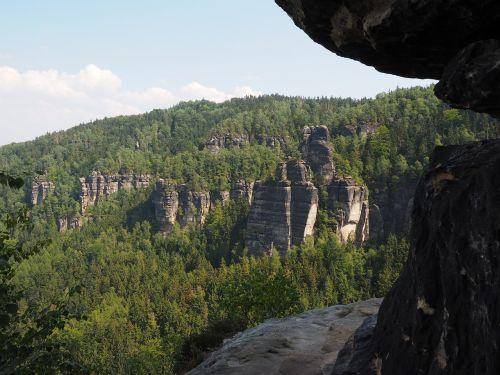 kelias,frienstein,idagrotte,mažas winterberg,elbe smiltainis,žygis,smiltainio uolienos,kraštovaizdis,akmens formavimas,žygiai,Rokas,Elbe smiltainio kalnai,smiltainio kalnas,Saksonijos šveicarija