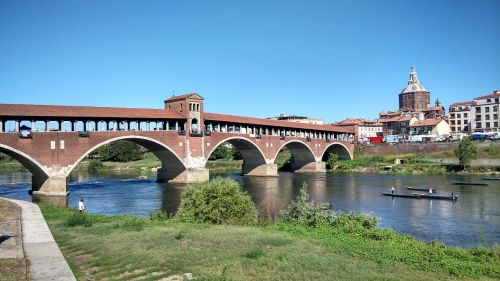 Pavia, Tiltas, Ticino