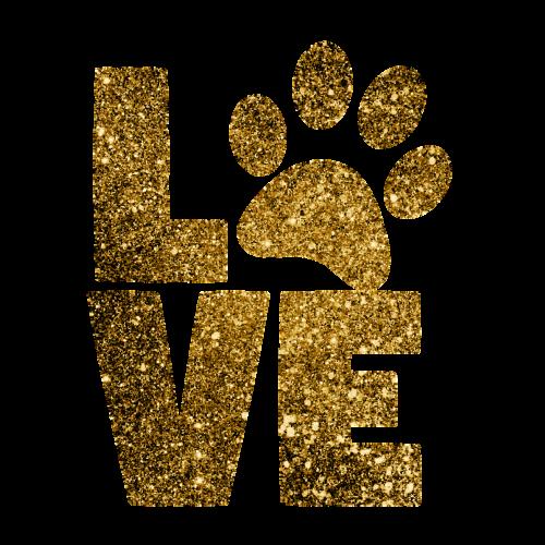 Paties spausdinimas,meilė,kojos,gyvūnas,naminis gyvūnėlis,aukso blizgučiai,blizgučiai,putojantis,aukso blizgučiai,spausdinti,katė,šuo,siluetas