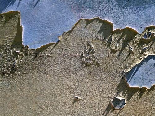 fonas, tapetai, Grunge, lupimas & nbsp, dažai, lupimasis, dažyti, senas, lupimasis dažų fonas
