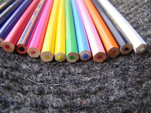pieštukai,spalvos,raudona,mėlynas,geltona,spalva,žalias,spalva,spalva,medinis