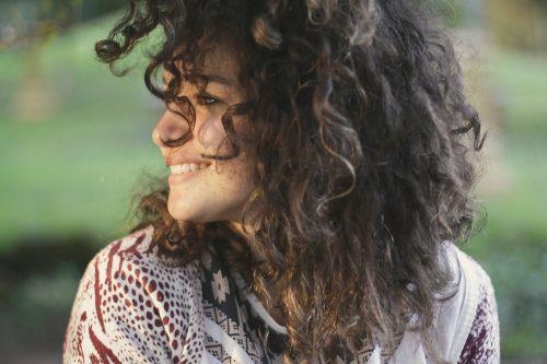 žmonės,moteris,laimingas,mėgautis,šypsena,grožis,Curl