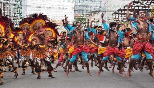žmonių, festivalis, paradas, minia, Šokiai, Gatvė, šokėjas, šventė, Turizmas, šventė, kostiumas