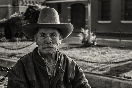 žmonės, juoda ir balta, balta, juoda, juodas fonas, vyras, sodas, juoda ir balta nuotrauka, miestas, Gvatemala, Antigua Guatemala