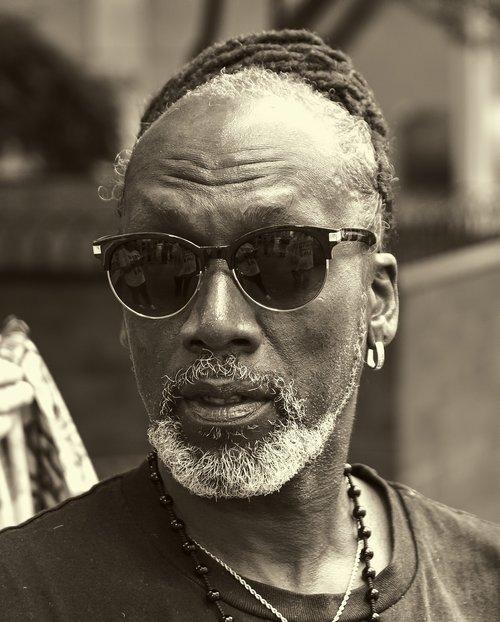 žmogus, vyras, afroamerikietis, Miestas, miesto