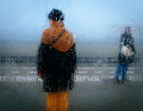 asmenys,lietus,oras,per,langas,lašas,šlapias,neryškus,lauke,nepatogus