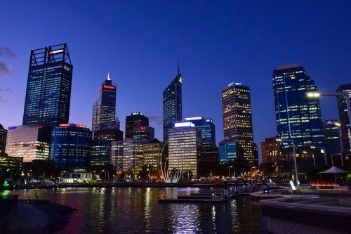 perth,Vakarų Australija,miestas,australia