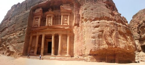Petra, Jordan, Senovės, Dykuma, Šventykla