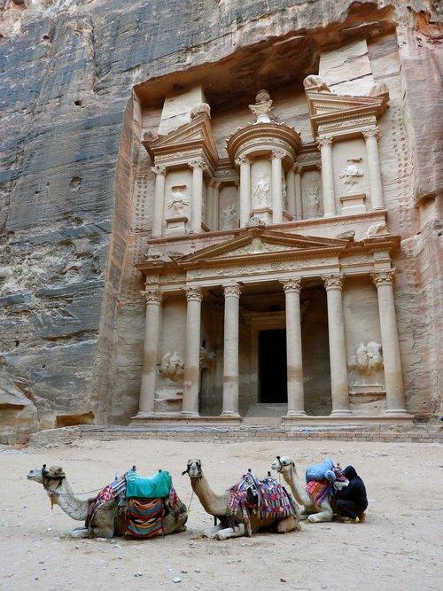 Petra,  Jordan,  Kupranugaris,  Archeologija,  Unesco,  Kanjonas