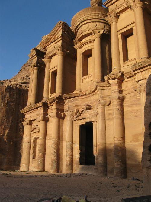 Petra, Jordan, Griuvėsiai, Senovės, Archeologija, Istorija