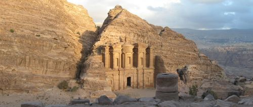 Petra, Griuvėsiai, Jordan, Senovės, Istorija
