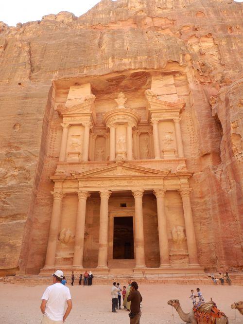 Petra, Dykuma, Jordan, Sugadinti
