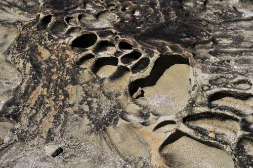 smėlis, nusmukęs, susmulkintas & nbsp, smelis, geologija, krateris, krateriai, nusmukęs smelis