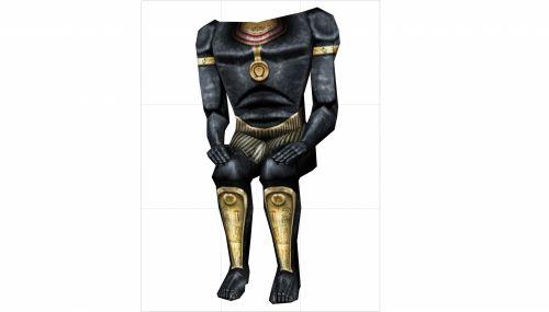 faraonas, ne & nbsp, galva, 3d, izoliuotas, balta, fonas, senovės, karalius, skulptūra, Egiptas, faraonas