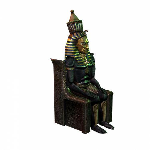 faraonas, sėdi, sostas, 3d, piešimas, dievas, auksas, Egiptas, piktograma, kėdė, pavadinimas, senovės, egyptian, simbolis, izoliuotas, grindys, balta, faraonas 2