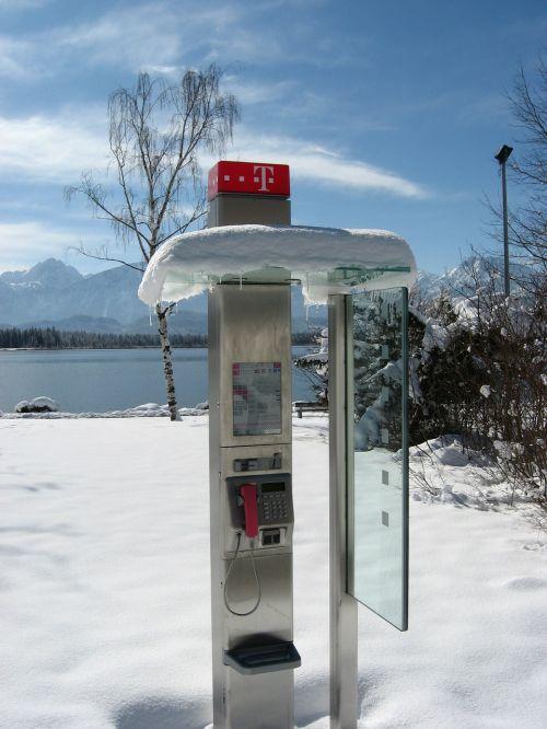 telefonas,komunikacija,tarpininkavimo steigimas,analoginis ryšys,dangus,debesys,ryšys,telefono sistema,sniegas,Allgäu,prisijungęs