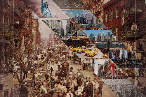 foto montavimas,Niujorkas,amerikietis,ny,fantazija,sirrealis