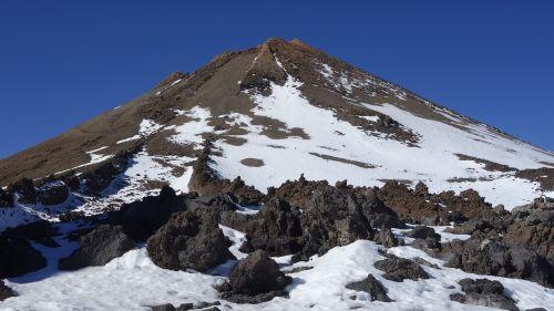 pico del teide, kalno teide, vulkanas, Tenerifės Kanarų salos, Kanarų salos