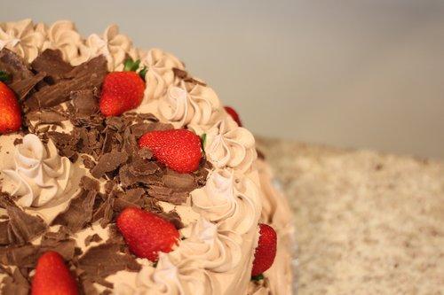 Pie, tortas, saldainiai, gastronomija, skanus, malonumas, valgyti, skanus, konditerijos, desertas, šokolado, maisto, pyragas skanus, žemuogė