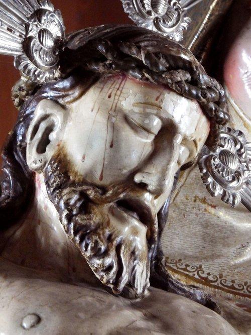 Pietà, San Andrés y padažai, La Palma, Our Lady of Montseratas bažnyčios, religinis paveikslėlis, Jėzus Kristus, Krikščionių, bažnyčia, kelionė, Montserrat, religinis, Religija, cc0