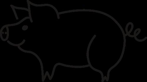 kiaulė,paršelis,nėra fono,gyvūnas,fauna,gamta,žinduolis,naminis gyvūnėlis,skaidrumas,kiaulės,kontūrai,nemokama vektorinė grafika