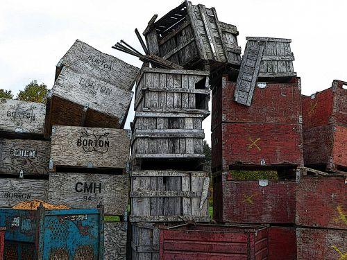 fonas, mediena, dėžė, dėžutės, mėlynas, raudona, medinis, tapetai, modelis, tekstūra, krūva, dėžės, konteineriai, senas, krūva dėžutės fone