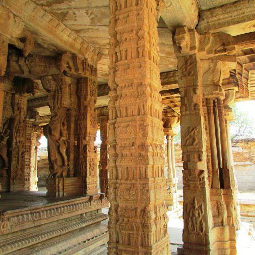 stulpai,skulptūra,akmeniniai stulpai,hampi,Indija,orientyras,kultūra,griuvėsiai,senas,senovės,istorija,istorinis,paminklas,istorinis,struktūra,architektūra