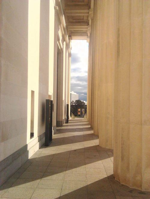 stulpai, muziejus, jėga, stiprybės ramsčiai
