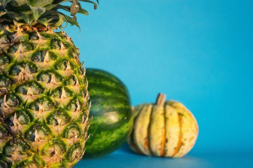 ananasai,melionas,moliūgas,vaisiai,šviežias,sveikas,maistas,šviežumas,šviežias vaisius,ekologiškas,saldus,šviežias maistas