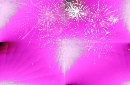 rožinis, tapetai, fejerverkai & nbsp, tapetai, fonas, rožinė ir balta fejerverkų tapetai