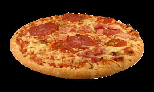 pica,Salami,ispanų,izoliuotas